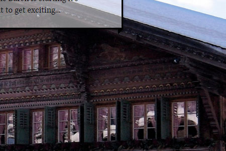 Baeren Hotel Gstaad