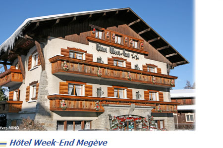 Hotel Week-end Megeve