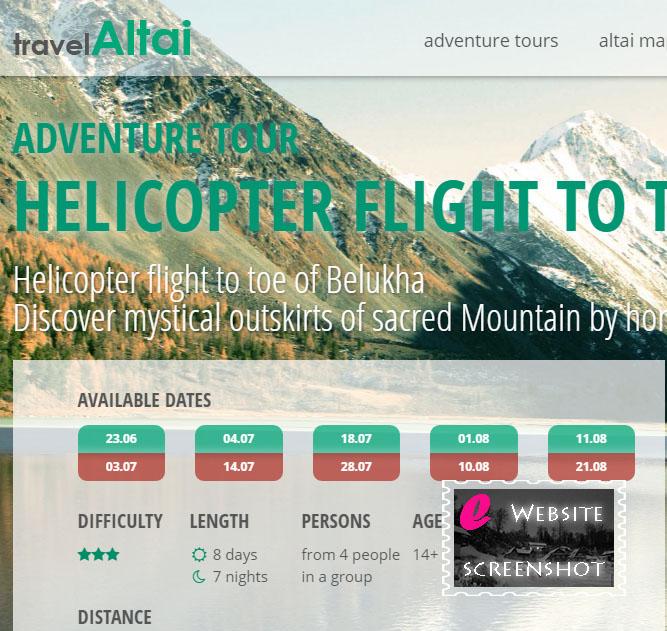 Travel Altai