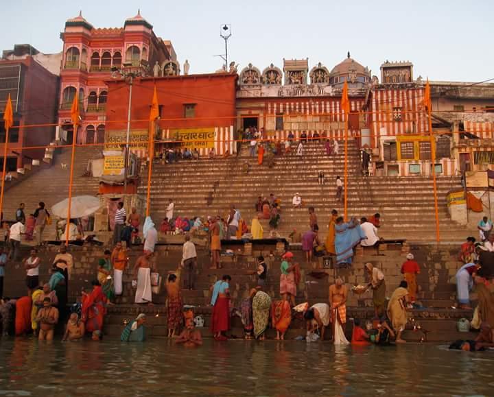 The spiritual city Varanasi - India