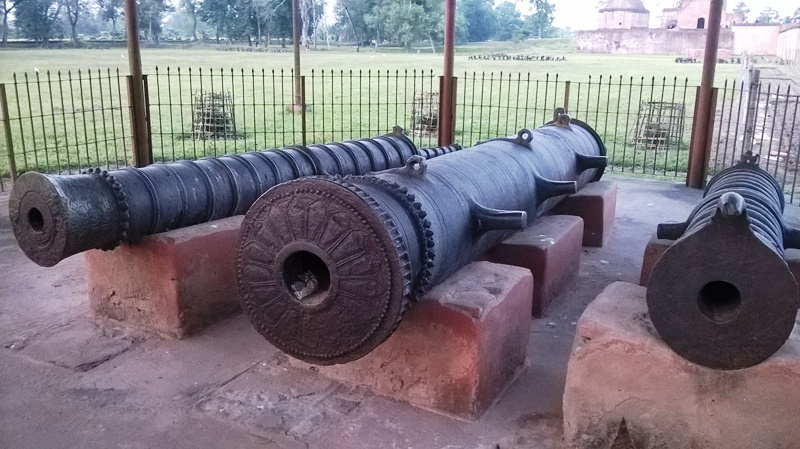 History & Culture ~Ancient Canons Talatal Ghar Sivasagar