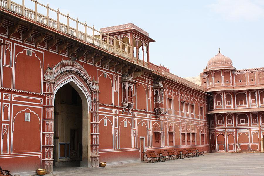 Intérieur du City Palace de Jaipur