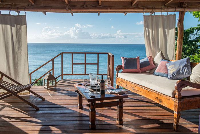 Laluna resort outdoor verandas