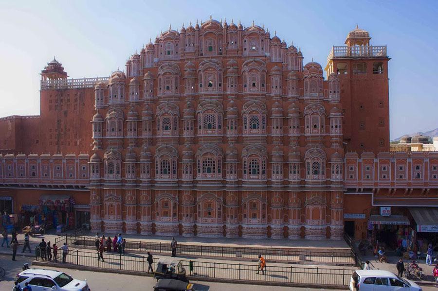 Palais de vents à Jaipur - Hawa Mahal