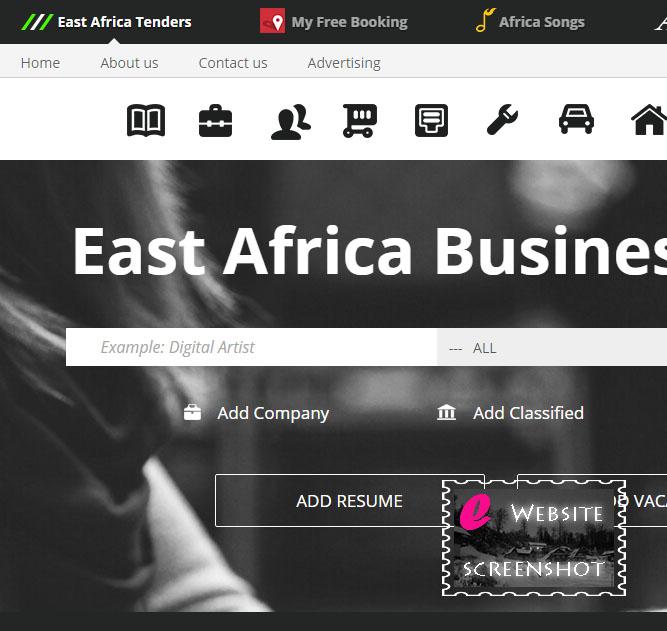 East Africa Tender