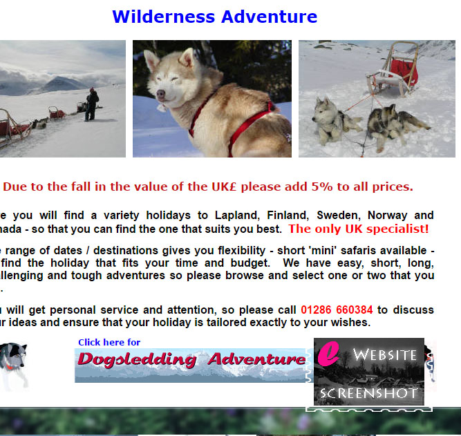 Wilderness Adventure