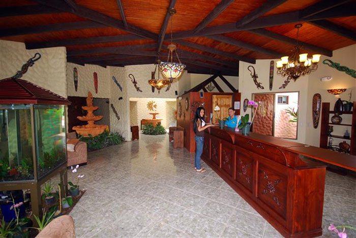 Lobby of Blue River Spa