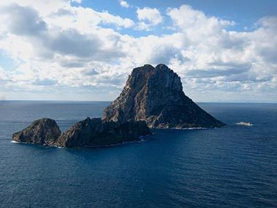 Es Vedra view from Ibiza