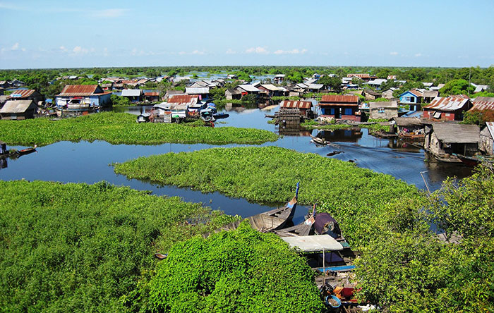 Floating Village on Tonle Sap Great Lake009