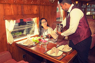 Services inside the luxury Viceroy ii