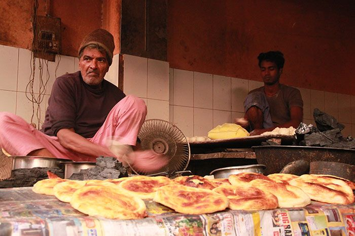 Street Food in Lucknow