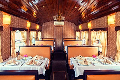 Travelers cabin on Luxury T1Railcar