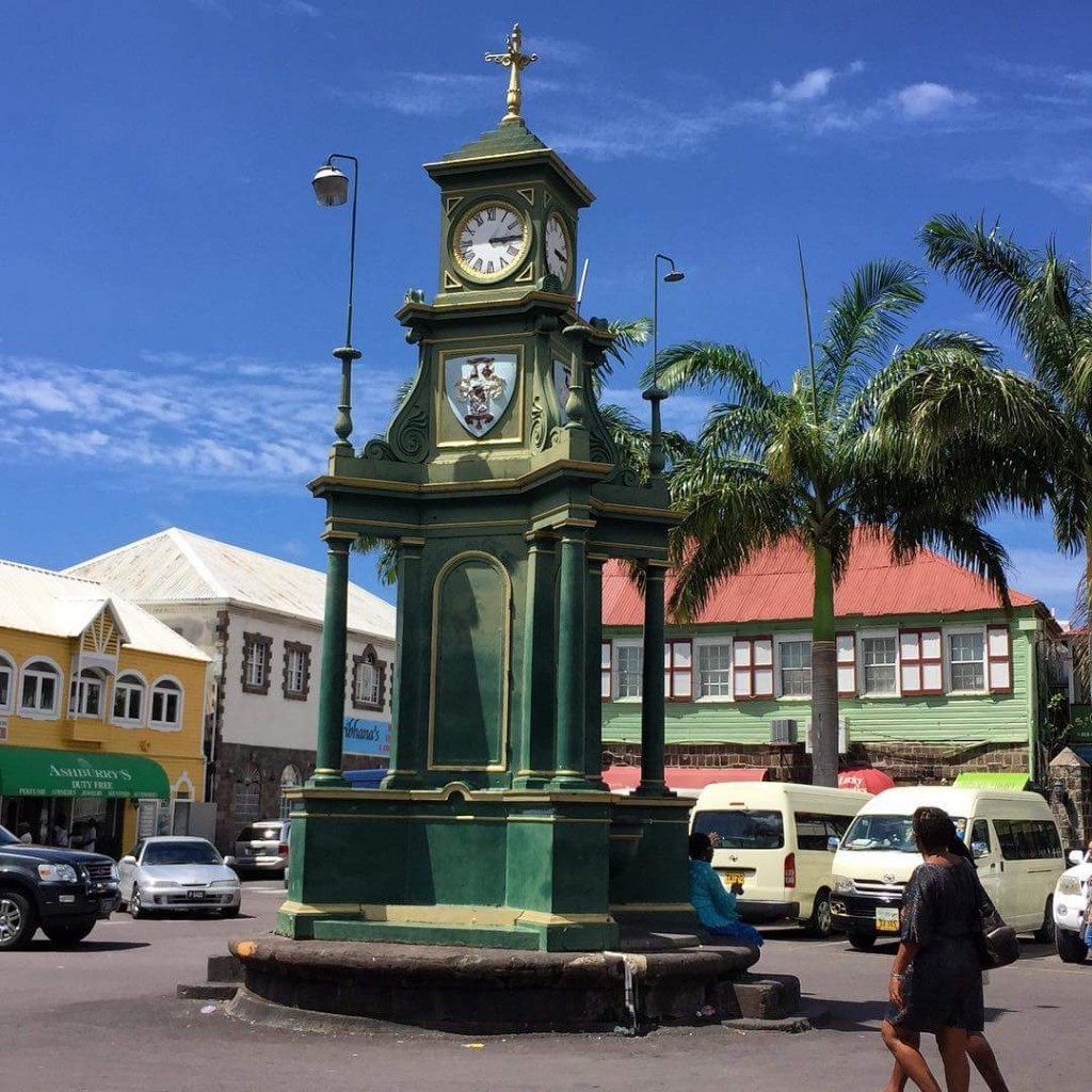 In the center of the town, the moment built I remembrance of a colonial day legislature (Thomas Berkley). The area is reffered to as the circus due to it's uniqueness to one in Britain.