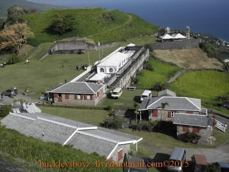 The Brimstone hill fortress
