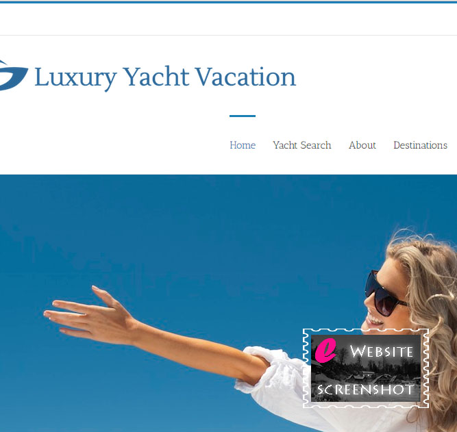 Luxury Yacht Vacation