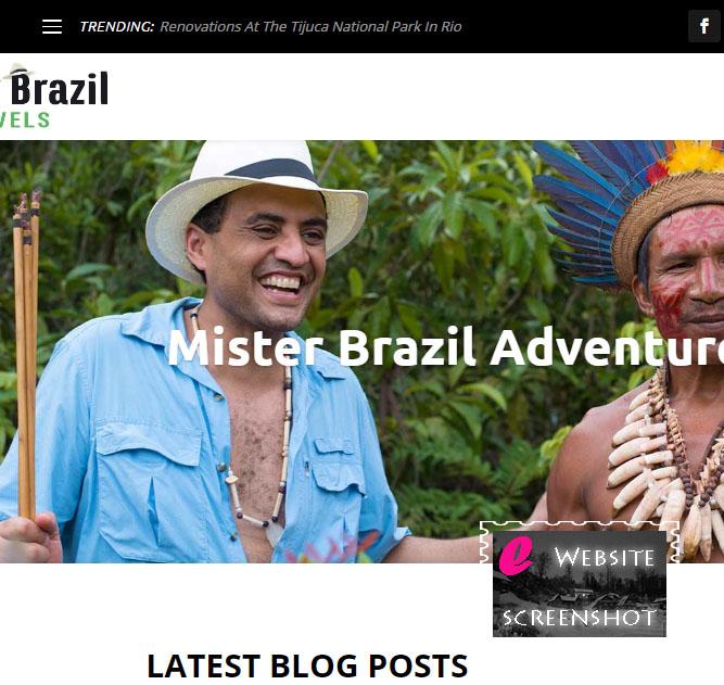 Mister Brazil Blog