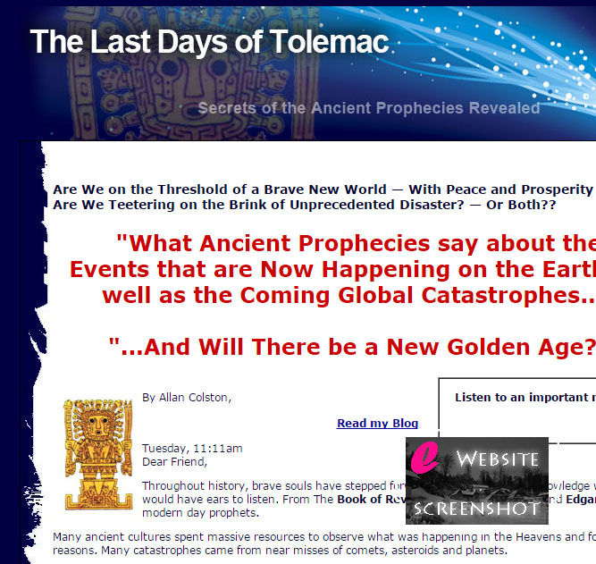 The Last Days of Tolemac