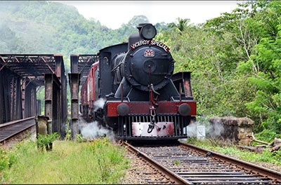 Viceroy Special with Steam Engine 340 B1 B - 1946