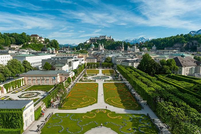 ©Mirabell Garden and Salzburg