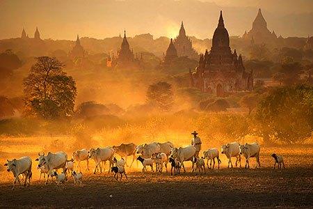 Bagan Myanmar Kyaw Kyaw Winn