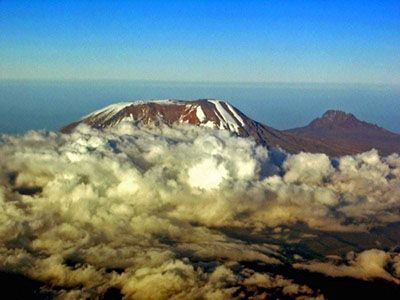Mt Kilimanjaro - The free standing mountain no mountain gear is reguired.