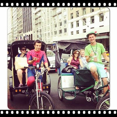 Central Park Rickshaw and Pedicab Tour