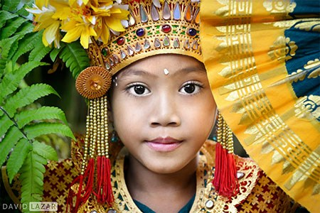 Bali Girl, Legong Dancer - David Lazar
