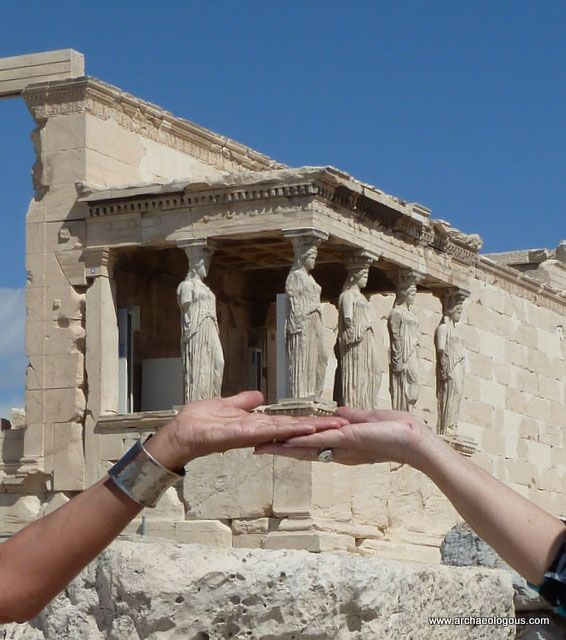 Acropolis - Hands on Carytids