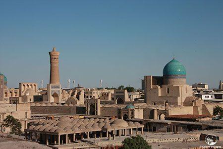 Bukhara, Trading Domes