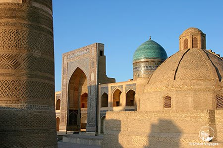 Bukhara, view on to Miri-Arab madrasah, XVI c.