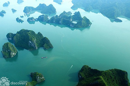 Halong from above