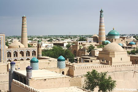 Khiva, beauties of the city