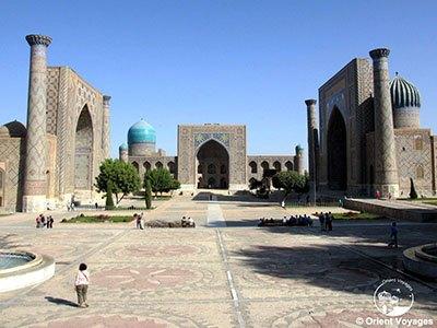 Samarkand, Registan Square, XV-XVII cc1.