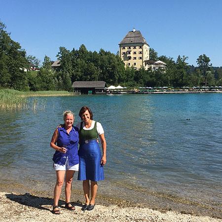 Schloss Fuschl at lake district