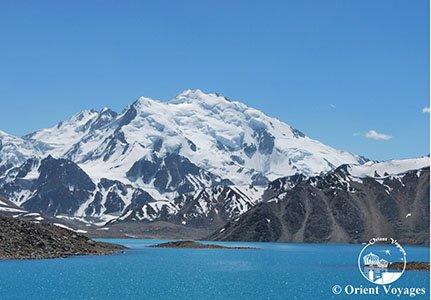 Tajikistan, Pamir, Lake Zaroshkul