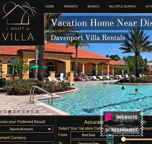 I want a villa