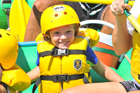 Colorado rafting is fun for the whole family