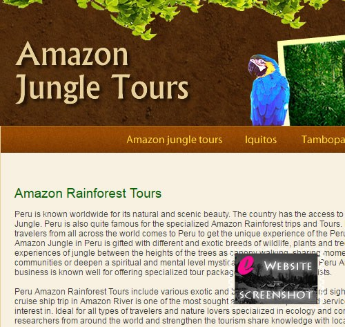 Amazon Jungle Tours