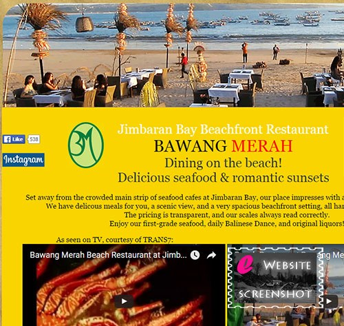 Jimbaran Beach Restaurant