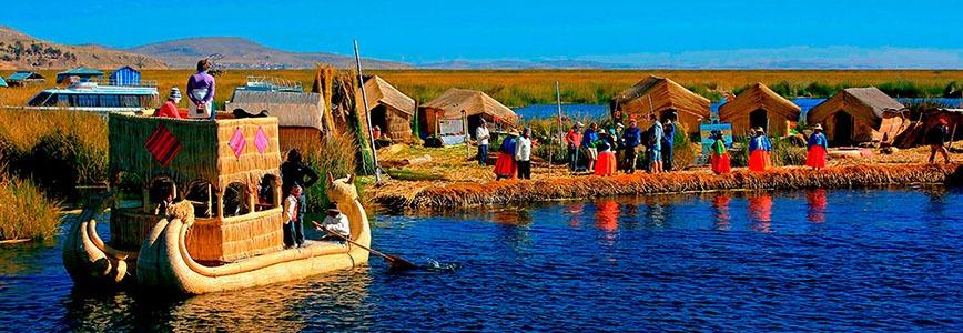 Uros - titicaca lake