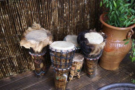 African and Latino drumming workshops