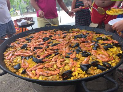 Paella at Competa Holidays