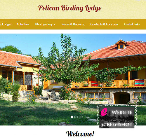 Pelican Birding Lodge