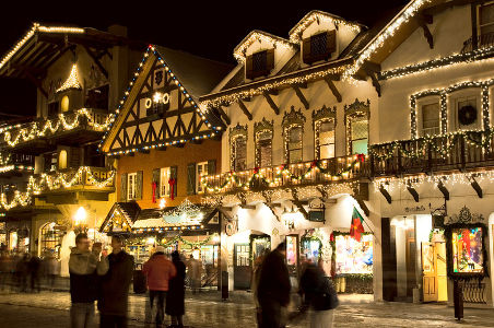 Beautiful and traditional French ski resorts