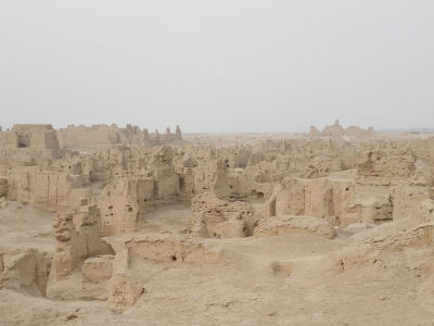Buddhist Resodential Part in Jiao - Ruins in Turpan