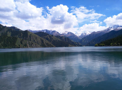 Heavenly Lake in Urumqi