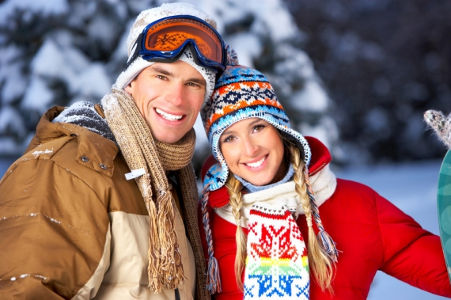 Romantic ski holidays in the French Alps