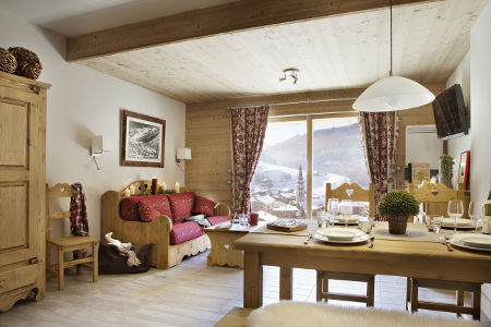 Ski apartments full of character