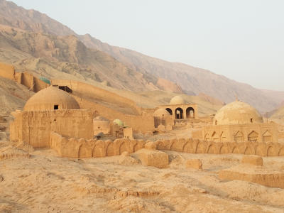 Tuyuk Ancient Mazar Cemetery in Turpan
