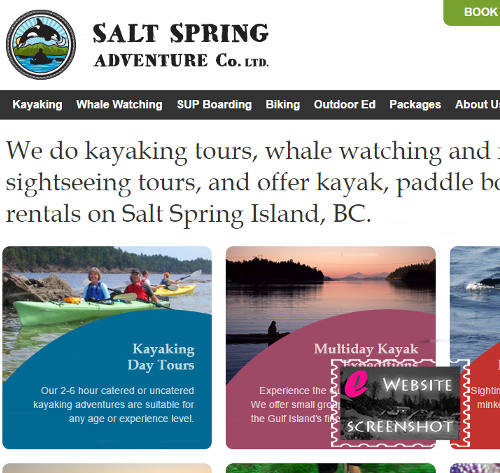 Salt Spring Adventure